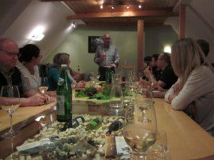 Erich Kroneder präsentiert seine Weine