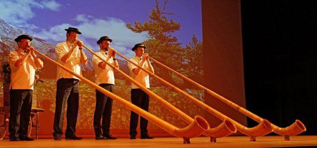 Hornistischer Beitrag zum Joderabig(Bild:Schwyzer Horngruppe)